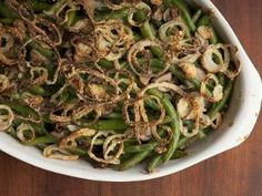 From scratch green bean casserole- my husband already asked if we can make this again for Thanksgiving. Yum!