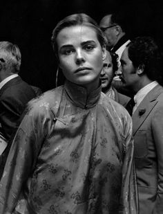Margaux Hemingway attends Straw Hat Awards on May 29, 1975 at Tavern on the Green in New York City