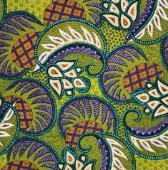 Love the color and the pattern...