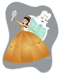 Belle and the Dresser