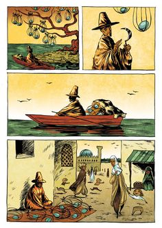 The Secret of Life - 2 / Silent Comics by Ileana Surducan, via Behance