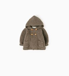 Image 1 of Hooded cardigan from Zara