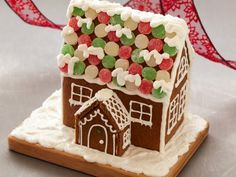 Get Gingerbread House Recipe from Food Network