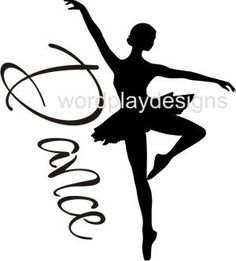 Dance Vinyl wall art decor by jk25wordplaydesigns on Etsy, $3.00