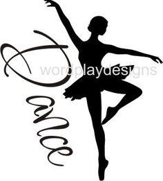 Dance Vinyl wall art decor by jk25wordplaydesigns on Etsy, $3.00