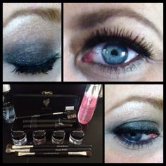 Younique cosmetics - Moodstruck Mineral Pigments, Rose Water, Glorious Primer, 3D mascara, lash/brow groomer & Deluxe Eye Brush set. www.youniqueproducts.com/ALBOE #younique #makeup #eyes