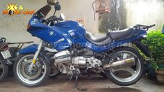 BMW R1100Rs do phong cach Cafe Racer thap nien 70 tai VN
