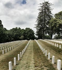 Annapolis National Cemetery. Established 1862 by President Lincoln. Annapolis, Maryland