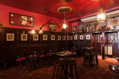 Irish Pub Victorian Style The Long Hall - very similar to McSwigg's!