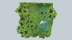 3D mur végétal - 3D Warehouse