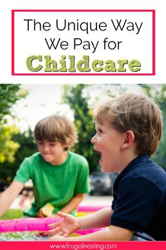 The cost of childcare is ridiculous these days! Learn about the unique way we pay for childcare that has saved our sanity! Whether it's a daycare center, a nanny or a babysitter this might help if you are on a tight budget!