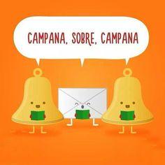 Campana, sobre, campana #compartirvideos #imagenes+divertidas