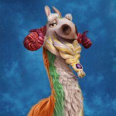 Shangri Llama: Looks familiar especially when it spits ( sneeze ) I hate llamas! Disney Pixar, Walt Disney, Ice Age Collision Course, Ice Age Movies, Blue Sky Studios, Rich Life, Llamas, Exotic, Hate