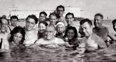 ATATÜRK ve yakın korumaları..(!) 5 Ağustos 1936, Florya