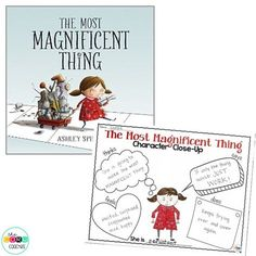 Such a great book to teach Growth Mindset and Character Traits.