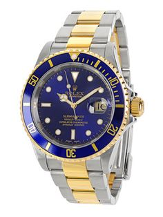 Estate Watches Rolex Submariner Two-Tone Watch