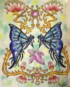 #hannakarlzon #tidevarv #coloingbook #adultcoloring #prismacolor #posca  #backgroundpastel