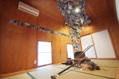「潟の間」。こじんまりした畳の部屋。