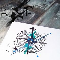 Image result for pirate compass tattoo