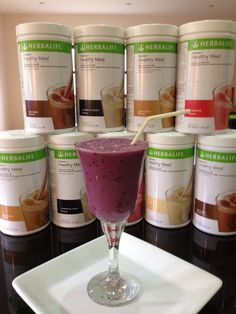 Herbalife Formula 1 Healthy Meal Nutritional Shake Mix comes in several great flavors! www.gailsonlinehealth.com