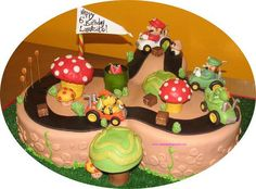 Super Mario Bros. Kart Cake - hehe
