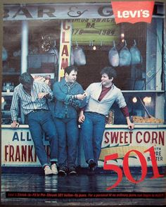 LEVI'S #501 Jeans for men. #vintage