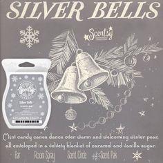 Scentsy Silver Bells ScentsbyKris.scentsy.us