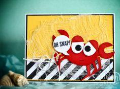 Mercedes Weber -Stampin Up Artisan Design Team February Blog Hop  Oh Snap Crab Punch Art