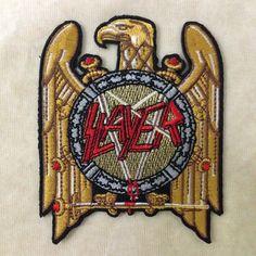 Slayer Rock Band Iron On Patch by PandaSevenShop on Etsy