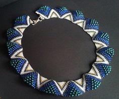 Beautiful peyote stitch bracelet
