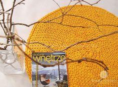 Crochet rug crochet carpet round rug knitted carpet by RNArtDesign