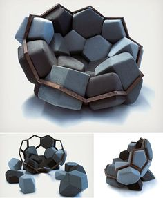 Cool and Unusual Chair Design for Modern Home - Stühle Unusual Furniture, Funky Furniture, Classic Furniture, Cheap Furniture, Furniture Design, Furniture Cleaning, Furniture Stores, Furniture Online, Funky Chairs