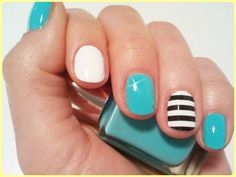 nail trend 2014 #nails #spring #summer  https://www.facebook.com/edinamakeup