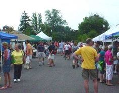 Wednesday is Market Day at Grand Blanc City Farmers Market in Michigan 4:30 - 8pm on Grand Boulevard just west of Saginaw Street and east of Davis Street between Reid and Grand Blanc Roads http://www.farmersmarketonline.com/fm/GrandBlancFarmersMarket.html