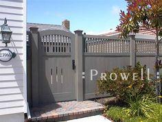 Prowell Woodworks' Original Garden Gate #7