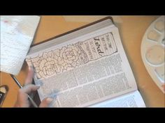Bible Journaling 101 - Easy to Follow Tutorials - Time-Warp Wife | Time-Warp Wife