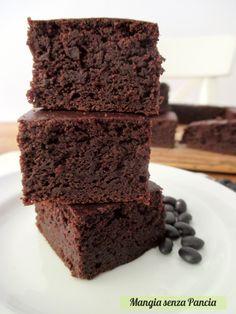 Brownie senza farina al cacao, Mangia senza Pancia