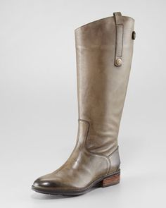 Penny Basto Crust Boot, Olive by Sam Edelman at Neiman Marcus.