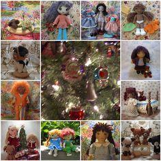 Dolls to Crochet – free patterns – Grandmother's Pattern Book