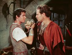 """Messala (Stephen Boyd): """"By what magic do you bear the name of a Consul of Rome?"""" // Judah Ben-Hur (Charlton Heston): """"You were the magician, Messala. When my ship was sunk, I saved the Consul's life."""" -- from Ben-Hur (1959) directed by William Wyler"""