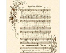 Shop for on Etsy, the place to express your creativity through the buying and selling of handmade and vintage goods. Old Sheet Music, Vintage Sheet Music, Faith Scripture, Bible Verses, This Is Gospel Lyrics, Music Border, Inspirational Wall Art, Inspiring Quotes, Hymn Art