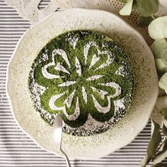 This matcha tiramisu cake is much easier than it looks! Make this gorgeous green tea dessert sure to impress.