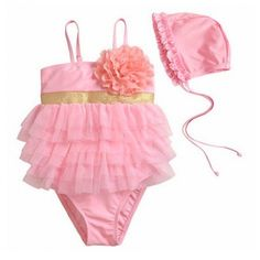 Milly Pink Retro Swimsuit