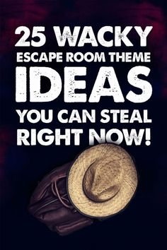 Use these to make your own escape room feel incredible: These storylines and themes transform your escape room into a movie set! - Designing Your First Escape Room