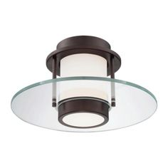 P854 Ceiling Flush Mount | George Kovacs at Lightology