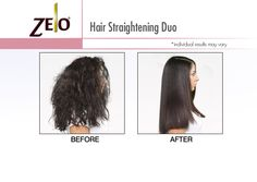 Zelo Brazilian Keratin Smoothing Kit, Before and After Results Natural Hair Care, Natural Hair Styles, Long Hair Styles, Brazilian Keratin, Keratin Hair, Coarse Hair, Relaxer, Smooth Hair, Damaged Hair