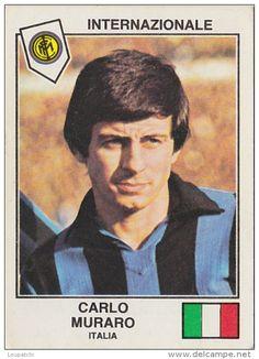 PANINI EURO FOOTBALL 1979 CARLO MURARO INTER MILAN ITALIA