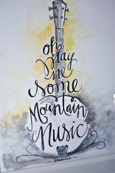 Play Me Some Mountain Music by AmyDavisSignsnDecor on Etsy