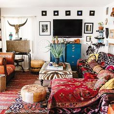 awesome On Creating A Bohemian Paradise (At Home): 4 Tips From Interior Expert Justina Blakeney.