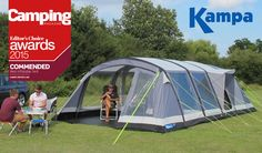 Kampa award winning inflatable tent